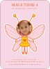 Butterfly Birthday Party Invitations with a Photo - Bubble Yum