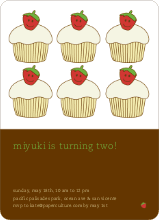 Strawberry Cupcake - Paper Culture Brown