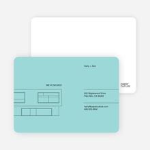 Minimalist House - Aquamarine