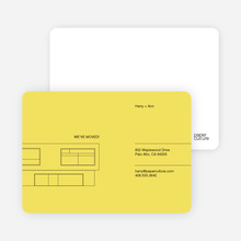 Minimalist House - Sunny Yellow