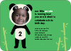 Kung Fu and Bamboo Panda - Emerald Green