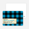 Scottish Plaid Invitations - Main View