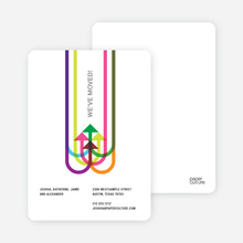 Moving on Up Moving Card - Multi