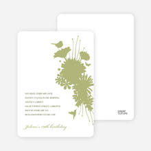 Nature's Bounty Invitation - Sage
