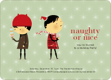Naughty or Nice? - Pistachio