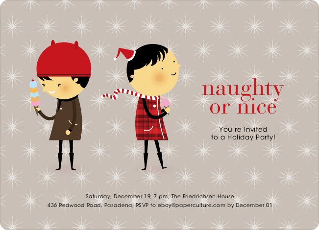 Holiday Party Invitations – Invitations for Christmas Party