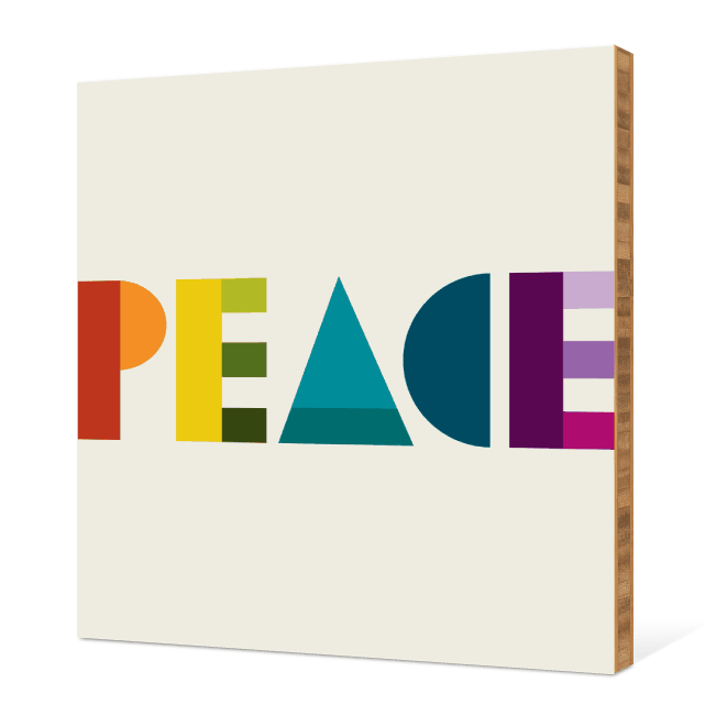 Peace Eco Wall Decor - Multi