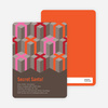 Never-Ending Presents Holiday Invitations - Tangerine
