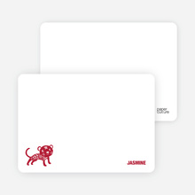 Note Cards: 'Simply Tiger' cards. - Pomegranate