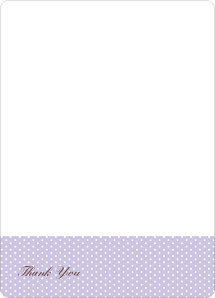 Notecards for the 'The Belly Bump' cards. - Lavender