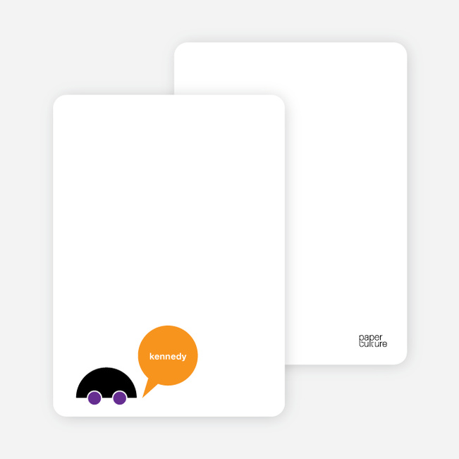 Notecards for the 'Beep Beep, Vroom Vroom' cards. - Grape Purple