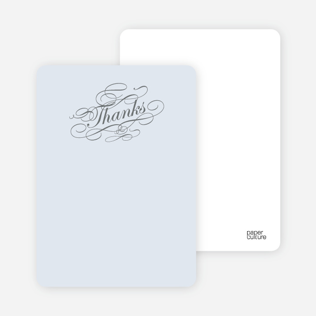 Notecards for the 'Celebrate: Bridal Shower' cards. - Glacier