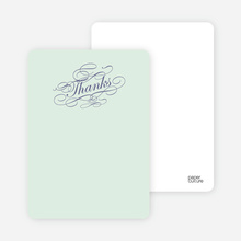 Celebrate: Bridal Shower Note Cards - Pale Mint