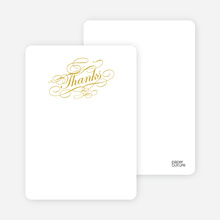 Notecards for the 'Celebrate: Bridal Shower' cards. - White