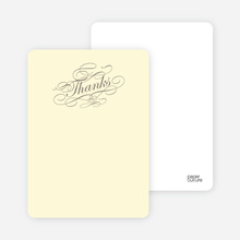 Celebrate: Bridal Shower Note Cards - Ecru