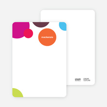 Circles Personal Stationery - Multi