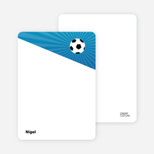 Soccer Kick - Light Blue