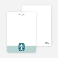 Stained Glass Communion Notecards - Sage Green