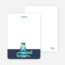 Notecards for the 'Super Hero Triumphs Again!' cards. - Grey Blue