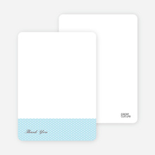 Notecards for the 'The Belly Bump' cards. - Baby Blue