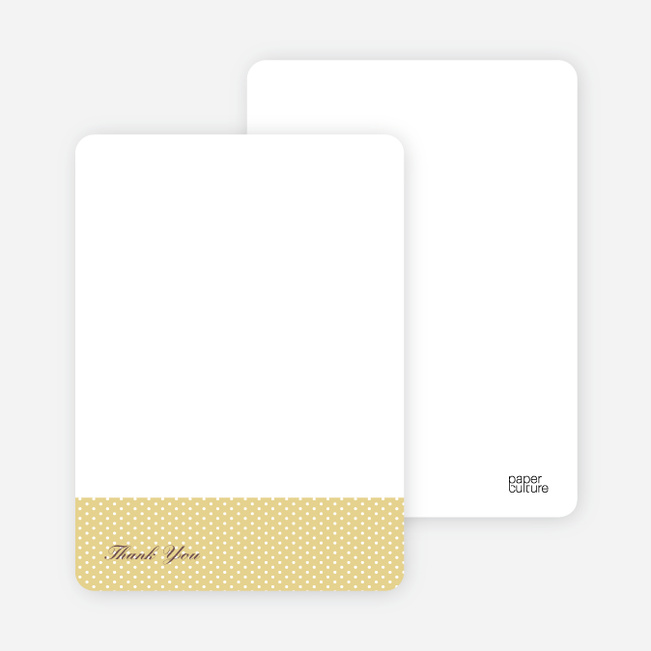 Notecards for the 'The Belly Bump' cards. - Mustard