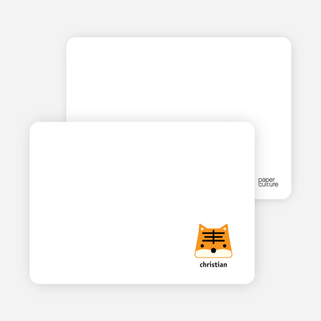 Notecards for the 'Tony the Tiger Announcements' cards. - Cantaloupe