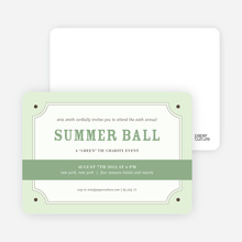 Placard Party Invitation - Jasmine
