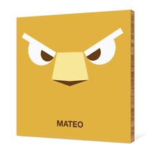 Lion Face - Mustard