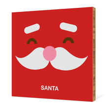 Santa Face - Fire Engine Red