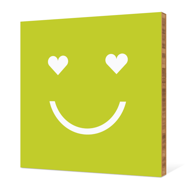 Smiling from the Heart: Bamboo Art - Kelly Green