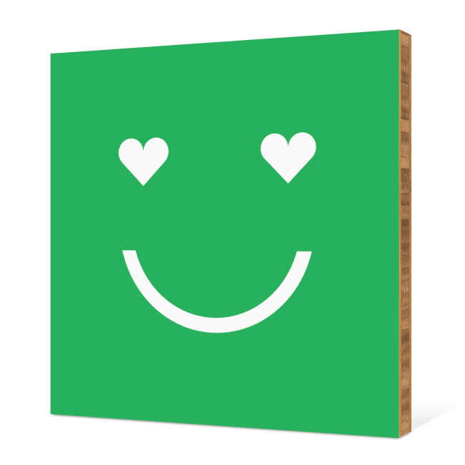 Smiling from the Heart: Bamboo Art - Chartreuse