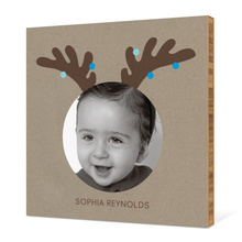 Reindeer Antlers - Light Blue