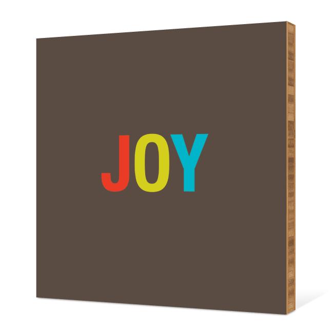 Joy Bamboo Wall Art - Multi