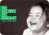 Be Merry Be Bright - Shamrock Green