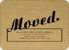 Moving Box Announcements – The Corrugated Look - Black