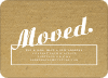 Moving Box Announcements – The Corrugated Look - White