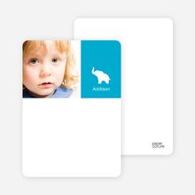 Ernie the Elephant: Personal Stationery - Royal Blue