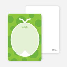 Green Ladybug: Personal Stationery - Shamrock