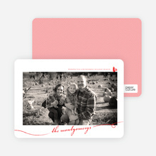 Photo Frame - Tomato Red