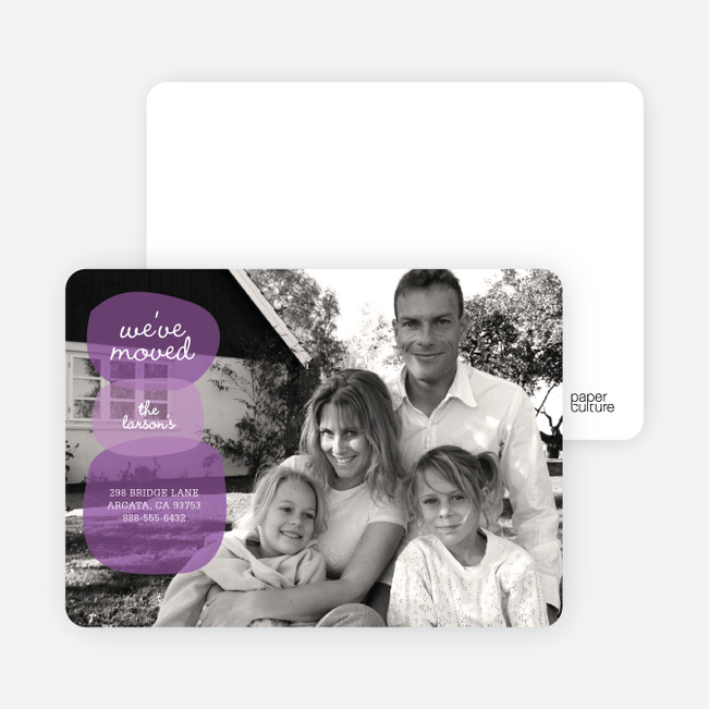Rock On – Photo Moving Cards - Grape Jelly