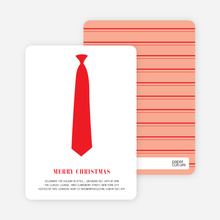 Serious Tie - Tomato Red