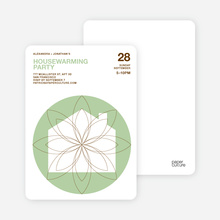 Spiral House Moving Cards - Bamboo