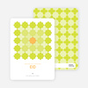 Starstruck Eid Cards - Lime Green