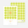 Starstruck Eid Cards - Lime Green