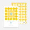 Starstruck Eid Cards - Mustard