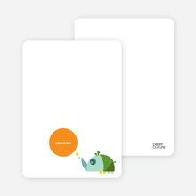 Stationery: 'Blue Rhino' cards. - Dream Green