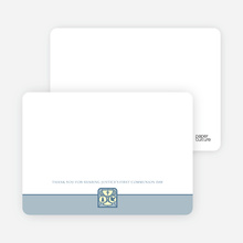 Chalice and Child Communion Notecards - Powder Blue
