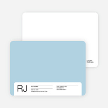 Stationery for the Man Who Has Everything - Blue Crystal