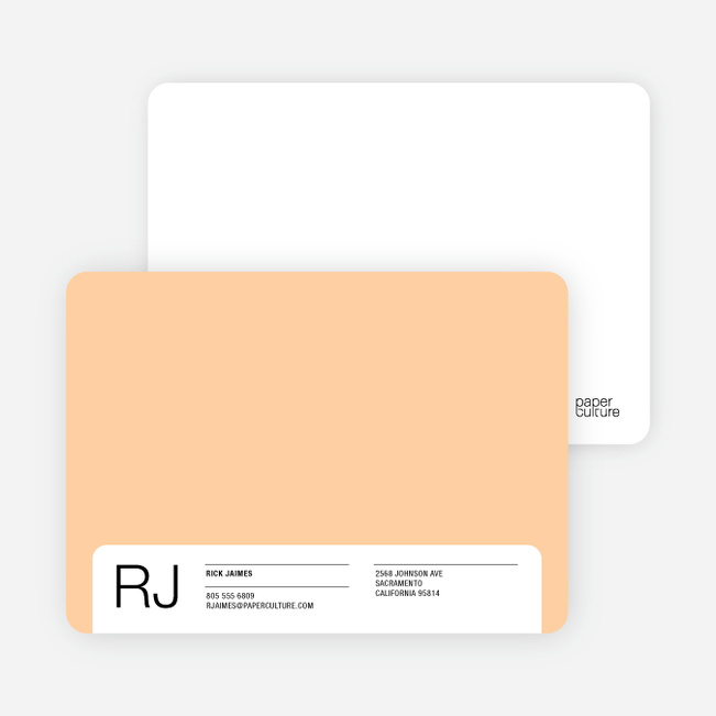Stationery for the Man Who Has Everything - Peachy Clean