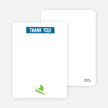 Let's Get this Party Started: Thank You Cards - Cobalt